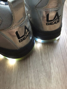 LA GEAR SHOES (with lights)