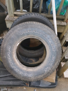 """31"""" 10.5r15 and 225 65 17 tires"""