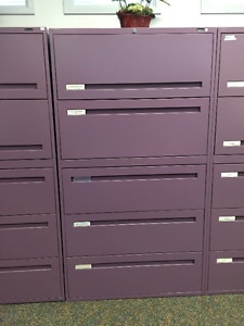 Filing Cabinets- Purple
