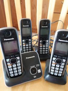 4 handset home phone