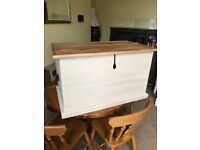 Annie Sloan Up Cycled Solid Pine Blanket Box/Trunk/Chest