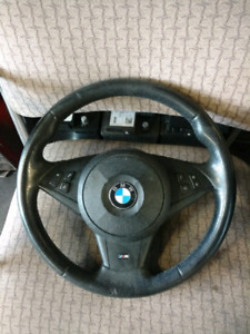 BMW M performance steering wheel and airbag