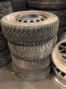 175 65R14 Winter Tires and Rims (4) for sale