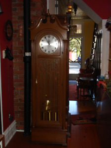 German Grandfather Clock, Excellent Working Condition