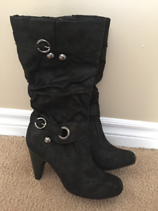 New Black Boots for Sale!
