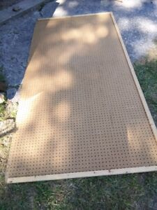 Pegboard for shop