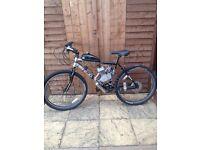 80cc petrol push bike