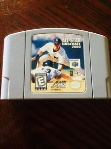 All Star Baseball 2000 for N64
