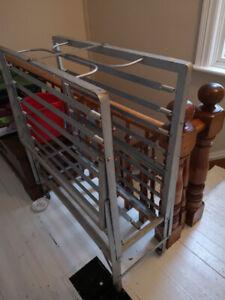 Single cot frame - foldable