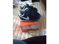 Brand new Nike trainers size 2c baby were £25.00