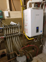 TANKLESS- HYDRONIC HEATING - FURNACE - AIR CONDITIONER- REDTAGS