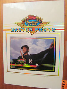 Topps Stadium Club Baseball Master Photo