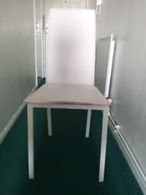 White Stylish, comfortable Dining Chair