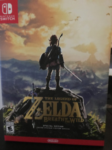 Neuf ** Zelda Breath Of The Wild  Switch - Édition Speciale