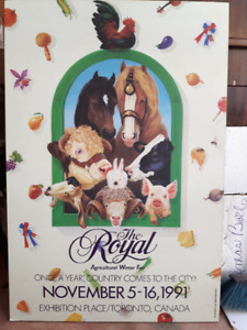 Royal Winter Fair 1991 Poster