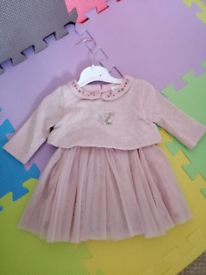 Next dresses and winter outfit for 0-3month girl