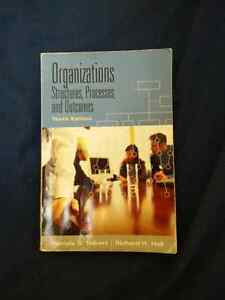 Organizations - Structures, Processes and Outcomes