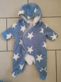 Baby NEXT Snowsuit upto 1 month