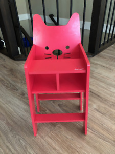 Janod baby cat high chair