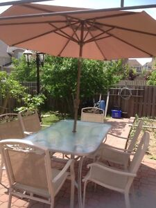 8 pieces patio furniture