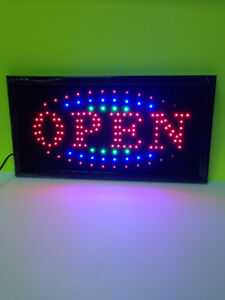 LED OPEN SIGN/CLOSE SIGN FOR SALE $29.99