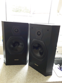 Tannoy 607 speakers and Tannoy stands