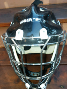 VAUGHN BALL HOCKEY SOLID HELMET  ONE SIZE FITS ALL!