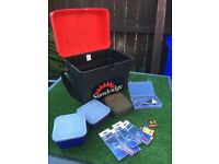 Seat fishing box with accessories