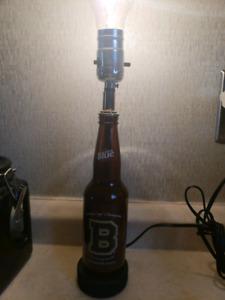 Orginal 6 boston bruins beer bottle lamp