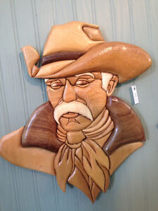 Cowboy by Woodworker Willie Kingston Kingston Area image 1