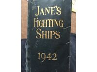 RARE: 1942 edition of James fighting ships
