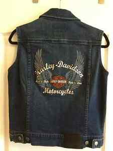 HARLEY DAVIDSON LADIES JACKET, VEST & SHIRT