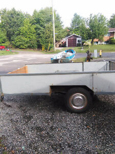 heavey duty utility trailer