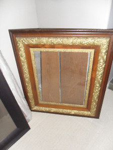 Large Antique Picture Frame, 1 smaller frame