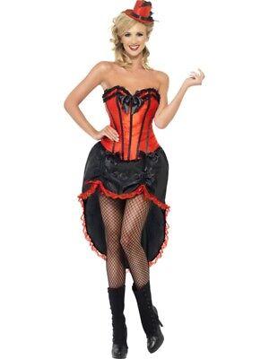 Burlesque Dancer Kostüm Tänzerin Erotik Kleid schwarz rot - Schwarzes Kleid Dance Kostüm