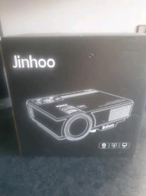 Jinhoo projector 6000 lumens