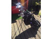 Nike golf clubs + 2x Taylor made burner driver