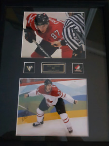 Crosby Signed autographed photos
