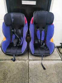 Isofix isafe car seat ×2
