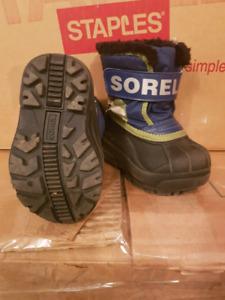 Toddler size 5 Sorel Boots