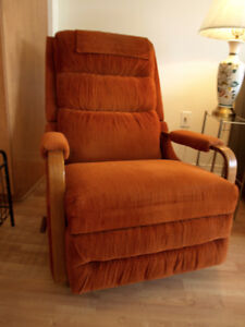 Chair recliner - fauteuil inclinable