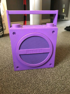 iHome iBT4 Bluetooth Rechargeable Boombox with FM Radio