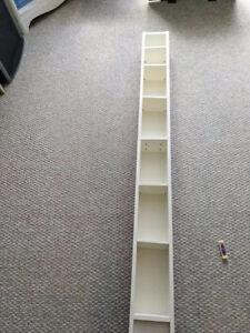 "2 IKEA DVD/ CD UNITS 6' 8"" Tall, 8"" wide, 7"" deep $30 NOW $20"