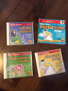 baby lullaby CD's
