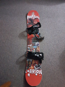 Burton Snowboard (Cheech and Chong Edition) with Bindings/boots