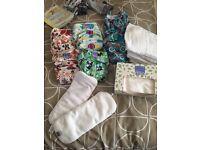 Baby reusable nappies bundle