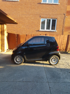 2011 Smart Car Fortwo, Black, Tinted Windows