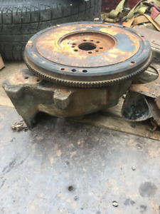 57 chevy 261ci flywheel and bell housing