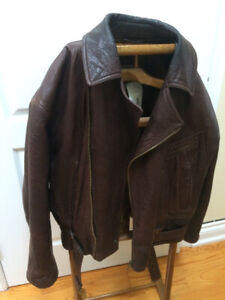 ARMANI BIKER JACKET - GOAT SKIN - L / XL - MEN