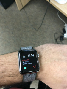 Apple watch series 2 Stainless steel with Apple care